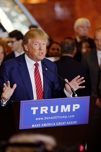 From flickr.com: Let Donald Trump be Trump. {MID-154245}