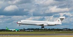 OY-JRU Danish Air Transport (DAT) McDonnell Douglas MD-87 (Niall McCormick) Tags: dublin airport aircraft air transport danish dat douglas airliner mcdonnell md87 dc987 eidw oyjru