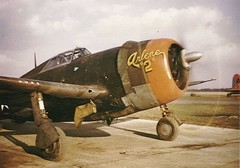 Vintage photo of the P-47