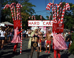 2015 Carnival Parade, Provincetown MA (Boston Runner) Tags: carnival sexy costume tour provincetown massachusetts madonna group parade eyecandy candycanes candyland redtape 2015 hardcandy stickyandsweet