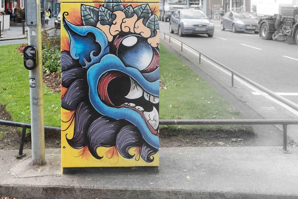 """""""Monty"""" By Kim Bale [Baggot Street Dublin Canvas Project 2015] REF-10805489"""
