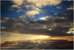 Canopy of the Sun (MaheshChopde) Tags: travel sunset cloud sun mountains colors crimson clouds plane sunrise landscape outdoors cloudy flight kashmir srinagar himalaya canopy canon650d canonrebel4i
