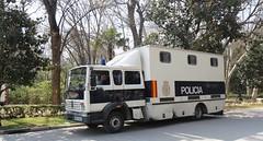 IMG_4864 (OZinOH) Tags: espaa sevilla andaluca spain police seville van andalusia plazadeespaa polica parquedemaraluisa marialuisapark