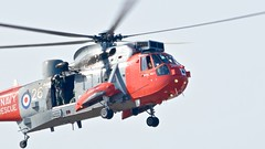 Sea King (_J @BRX) Tags: airshow helicopter southport seaking royalnavy searescue avaition september2015