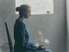 die Konversation (Part II) (andreaschwelle) Tags: woman art fineart dream surreal digiart composing
