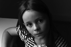 Fanny at window (maria_vladimirskaya) Tags: portrait blackandwhite girl child availablelight naturallight indoor portrt  schwarzundweis