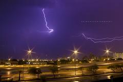 Kuwait's thunderstorm (Zaina.Faraola) Tags: storm cold rain weather thunderstorm kuwait thunder winters fintas