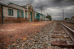 Shoshone, Idaho _70D (Carini Stefano) Tags: railroad cloud building fall station weather by clouds landscape photography contemporary idaho trainstation hdr shoshone stefano 70d carini canon70d photographybystefanocarini