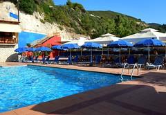 Kathisma Beach, Lefkada, Greece (ForceMajeureMontenegro) Tags: beach pool greece griechenland lefkada grka kathismabeach