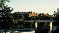 Puente internacional sobre el Ro Mio (1). (lumog37) Tags: bridges rivers puentes ros fortresses fortalezas