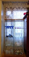 lasivitriini (Anna Amnell) Tags: koti lasivitriini lasihyllykaappi