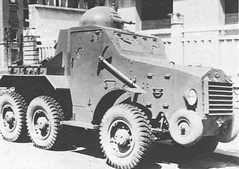 "French armored car ""Laffly S15 TOE""."