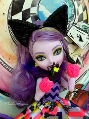 Kitty  (The Doll Side [  MarildaHungria  ]) Tags: cat way high doll cheshire kitty after too wonderland ever mattel