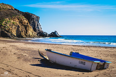 Cala El Barronal (Lady Rock Night) Tags: mediterrneo patera