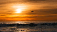 Sunset Sortie (David Colombo Photography) Tags: ocean sunset sky sun seascape water clouds landscape chopper nikon waves sandiego outdoor military helicopter marines marinecorps d800 mcas usmarines windandsea mcasmiramar davidcolombo davidcolombophotography windandseasunset