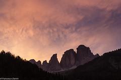 Tramonto tempestoso (cesco.pb) Tags: sunset italy mountains alps clouds canon italia tramonto nuvole alpi montagna trentino dolomites dolomiti dolomiten valdifassa sassolungo campitellodifassa canoneos60d tamronsp1750mmf28xrdiiivcld