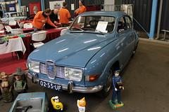1972 Saab 96 V4 (Davydutchy) Tags: auto classic car automobile voiture bil vehicle oldtimer eelde pkw klassik klassieker veterán bloemenveiling automobiel oldtimerbeurs