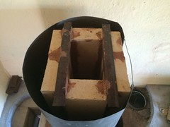 RMH0058 (velacreations) Tags: rmh woodburningstove rocketmassheater