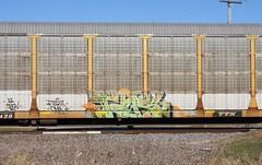 Tars (quiet-silence) Tags: railroad art train graffiti railcar graff freight aa tars autorack fr8 aacrew