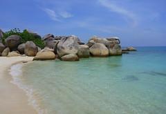 Paradise beach on Pulau Perhentian, Malaysia (Frans.Sellies) Tags: p1010347 pulau pulauperhentian perhentian paradise island malaysia
