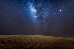 The Milky Way! (aliffc3) Tags: milkyway galaxy stars lowlightphotography longexposure nikond750 tamron2470f28 landscape sanddunes mesaieed qatar