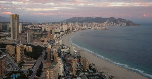 Benidorm from the top