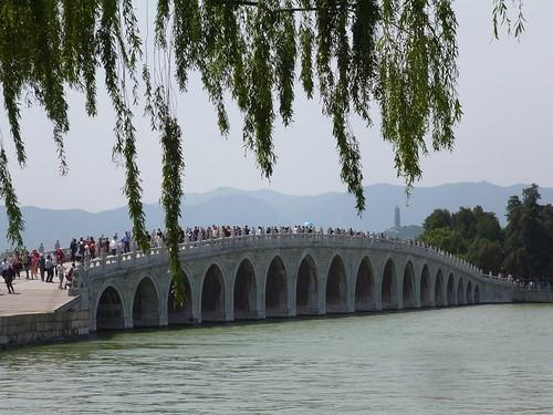 Seventeen-arch bridge at the Summer Palace, Beijing