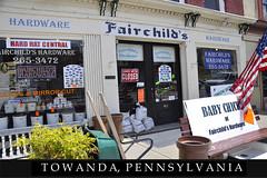 An Evan Post Card: Towanda, Pennsylvania (Evan Lowenstein) Tags: towanda pennsylvania keystonestate endlessmountains susquehanna poconos hardware hardwarestore