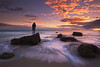 last look (Andy Kennelly) Tags: malibu stranger pacific ocean waves beach rocks pch coast california water sand motion