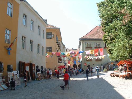 Segesvár, Múzeum tér
