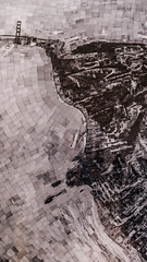 sohei nishino (pbo31) Tags: sanfrancisco california nikon d810 color december 2016 boury pbo31 bayarea sanfranciscomuseumofmodernart sfmoma soma city art contemporary modern extention black blackandwhite over urban goldengatebridge collage map