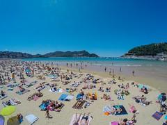 Playa de la Concha, San Sebastian!