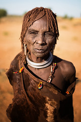Etiopia (mokyphotography) Tags: etiopia omovalley valledellomo omo people portrait ritratto woman donna tribù tribe africa etnia ethnicity southetiopia canon religion canoneos hamer civilisation tribal viso face eyes occhi