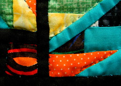 Corners (Ramona H) Tags: corner quilt miniature macromondays color bright eyecatchy stitches