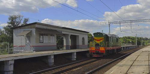 ЧМЭ3-4494 платформа Калинина