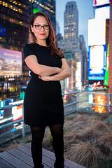 Johanna Salazar (fiu) Tags: fiu alumni magazine johanna salazar business vp portrait profile 2017 dh viacom nyc new york city time square broadway