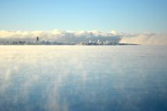 A view across Kruunuvuorenselkä: sea smoke at -20°C (Helsinki, 20170106) (RainoL) Tags: 2017 201701 20170106 balticsea cold d5200 degerö fin finland geo:lat=6016464307 geo:lon=2501119640 geotagged helsingfors helsinki hundholmen ice koirasaari kronobergsfjärden kruunuvuorenselkä laajasalo nyland sea seafog seasmoke seashore suomenlinna sveaborg uusimaa winter