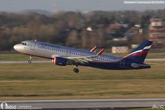 VQ-BSU (dabianco87) Tags: aeroplano aircraft aerei plane dus dusseldorf airbus a320 aeroflot vqbsu