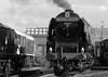 BH 52556bwstrcr (kgvuk) Tags: barrowhill roundhouse engineshed railways trains steamtrain locomotive steamlocomotive steamengine duchessofsutherland 46233 duchess princesscoronation 462 43106 260 ivatt4mt 47406 060t jinty 3f