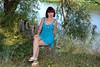 DCS_1966_00047 (dmitriy1968) Tags: portrait портрет nature природа beautiful girl wife люди people evening erotic sexsual секси эротика summer лето река river дон купальник swimsuit загар tan платье dress