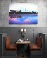 Breakfast with a view (Lt Frank Drebin) Tags: wall frame interior poster mocks modern room photo art decoration brick floor business presentation portfolio light canvas old black decorative collection books design paper exhibit style work board image identity mockup white blank concept urban template studio graphic typography fashion creative retro realistic brand cool picture wooden grunge office pattern serbia barryisland beach