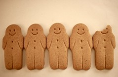 Resistance is futile (Kez West) Tags: biscuits smiles smileonsunday gingerbread food treat faces