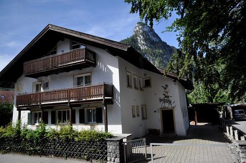 Oberammergau (Alemania). Pinturas en fachada de una casa