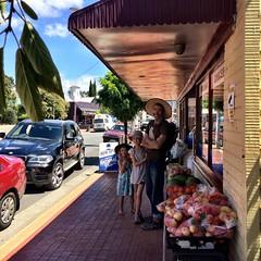 Cygnet Main Street.