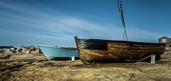 On Rocky Ground (THE NUTTY PHOTOGRAPHER) Tags: drydock boats fishingboats portlandbill