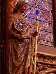 La Sainte-Chapelle (thierrymasson94) Tags: paris france arts sculpture lasaintechapelle saintlouis