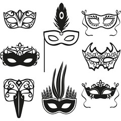 free Vector Brazil Carnival Festive carnival silhouettes mask set isolated (cgvector) Tags: black brazilcarnival butterfly carnival carnivalmask celebration circus concept costume costumeparty culture decoration disguise drama fair fashion festival festive festivecarnivalsilhouettesmasksetisolated halloween holiday illustration isolated mardi mardigras mask masquerade mystery opera parade party set shape silhouette theatre theatrical tradition vector venetian venetianmask venice venicecarnival vintage brazil design rio symbol carnaval traditional decorative color colorful banner background janeiro de backdrop