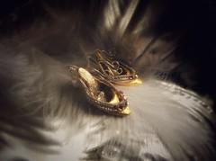 FullSizeRender(11) (eikollander) Tags: shoes doll miniature 12inch barbie silkstone vintage collector ooak handmade etsy designer elegant couture fashion gold crystal jewel