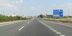 A-23-8 (European Roads) Tags: a23 autovía zaragoza zuera huesca españa aragón spain motorway