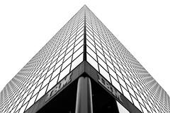 Vertigo (bprice0715) Tags: canon canon5dmarkiii canoneos5dmarkiii architecture architecturephotography building blackandwhite blackwhite bw highkey white black ibm ibmbuilding albanyny albany lines vertigo symmetry